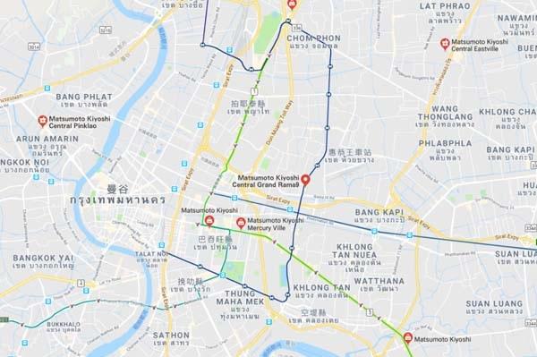 matsumoto kiyoshi bangkok MAP.jpg
