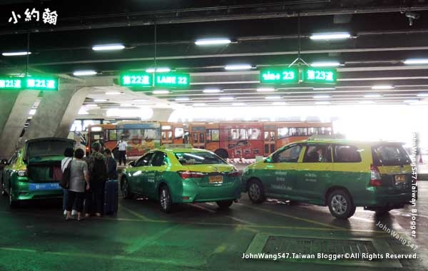 Suvarnabhumi airport Taxi