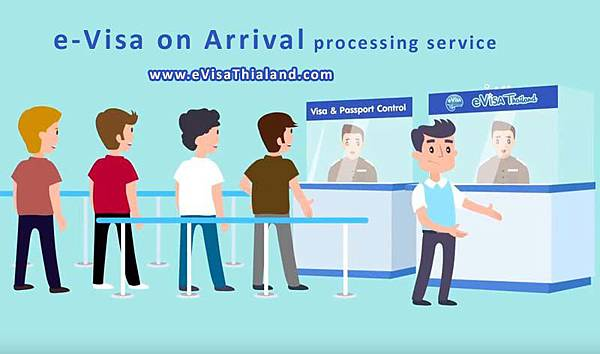 Thailand e-Visa on Arrival processing service