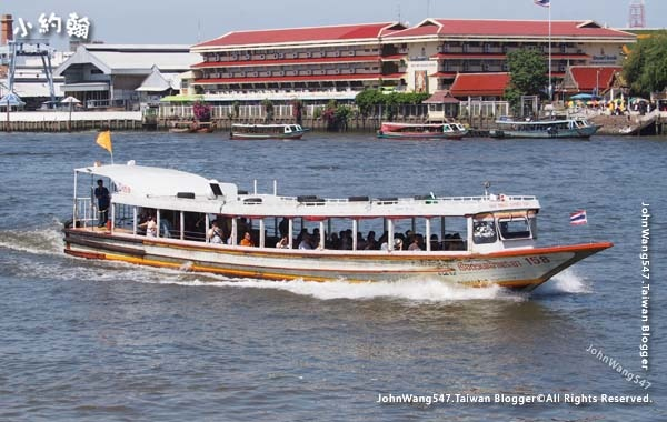 Chao Phraya River Express Boat orange flag.jpg