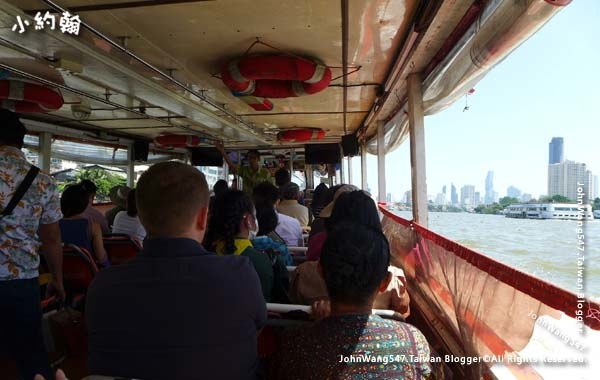 Chao Phraya River Express Boat indsie