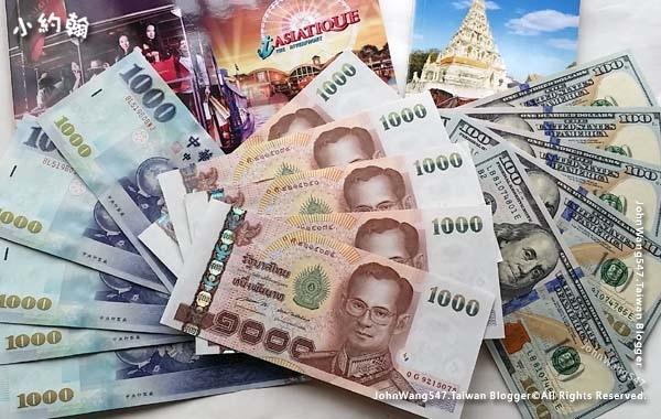 美金台幣換泰銖