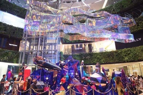曼谷百貨聖誕廣場Siam Paragon