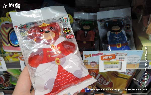 泰國7-11超商大熊軟糖