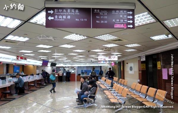 台北外交部申請護照2樓.jpg