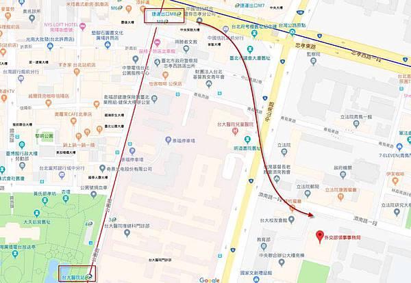 外交部領事事務局地圖map
