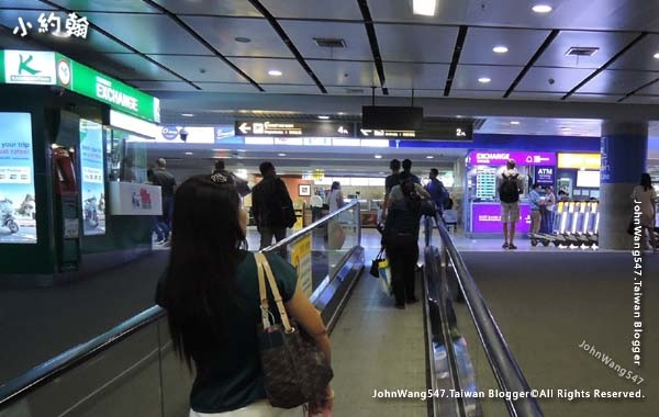 曼谷機場捷運快線回Suvarnabhumi Airport蘇凡納布機場3.jpg