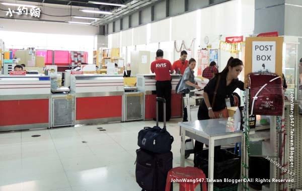 曼谷BKK機場Suvarnabhumi Airport Post office郵局.jpg