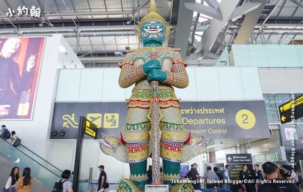 曼谷BKK機場國際出發檢查.jpg