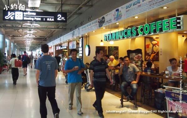 Suvarnabhumi Airport蘇凡納布機場2樓咖啡餐廳