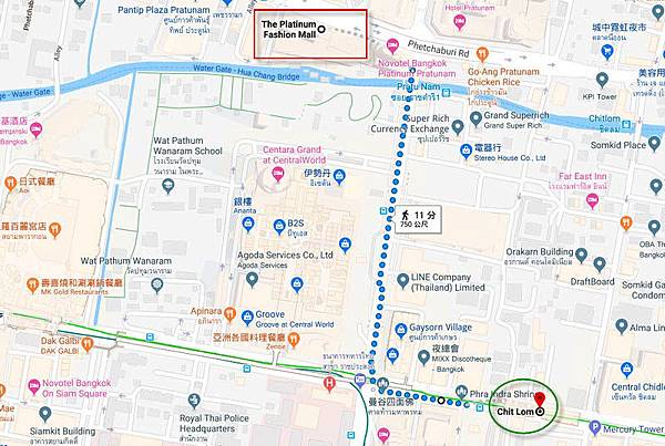 Bangkok Platinum Fashion Mall walk map.jpg