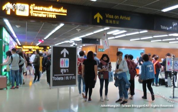 DMK廊曼機場落地簽證Visa on Arrival.jpg