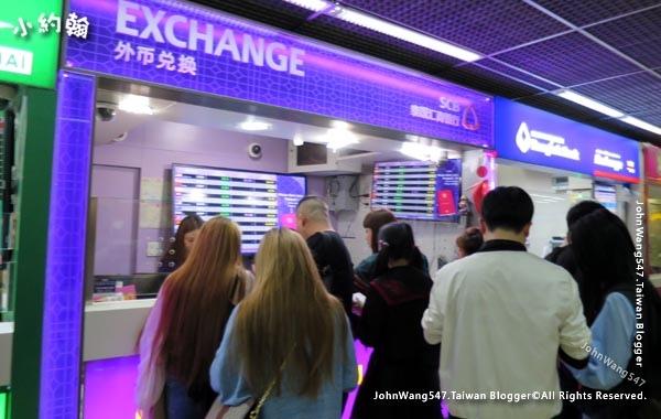 DMK廊曼機場落地簽證換泰銖.jpg