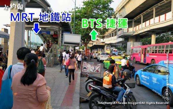 曼谷廊曼機場巴士A1A2 Bus下車站.jpg