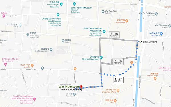 Wat Muentoom Chiang Mai map.jpg