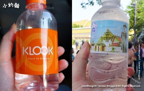 曼谷大皇宮一日遊多補充水份