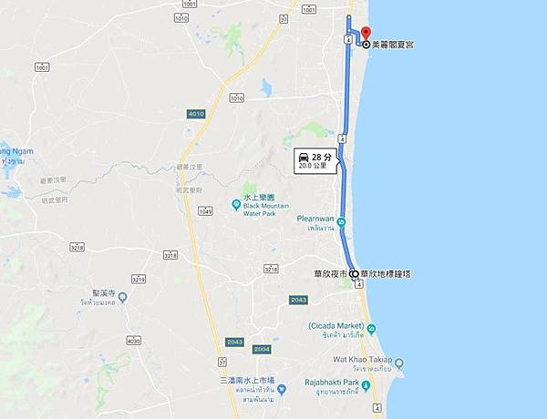 華欣愛與希望之宮Hua Hin Mrigadayavan Palace MAP.jpg