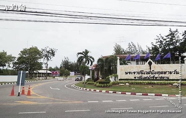 騎車到愛與希望之宮Rama 6 palace entrance.jpg