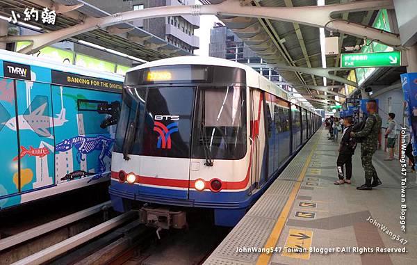BTS bangkok SkyTrain(Bangkok Mass Transit)