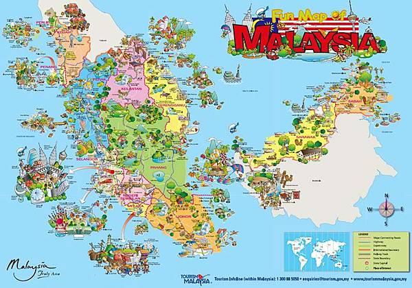 馬來西亞觀光FUN MAP
