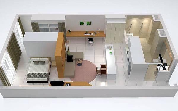 PARKROYAL Serviced Suites Kuala Lumpur單臥室套房