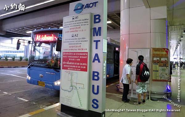 曼谷廊曼機場入境A1BUS進市區.jpg