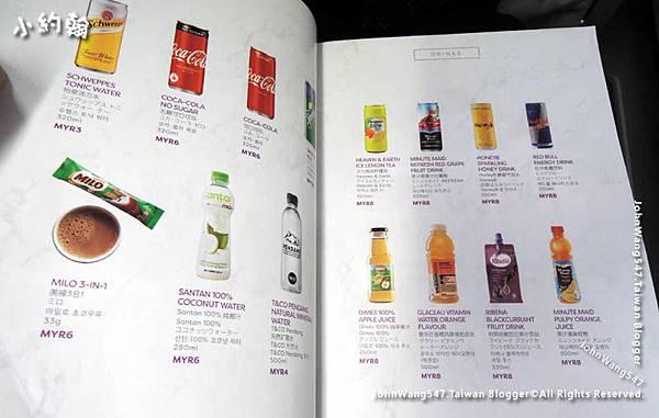 AirAsia桃園直飛吉隆坡機上飲料價格.jpg