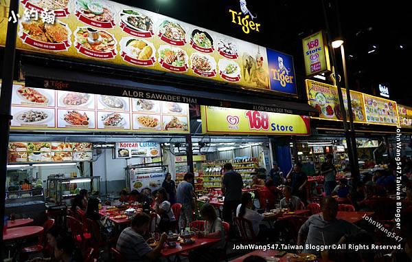 吉隆坡Jalan Alor阿羅街海鮮快炒店3.jpg