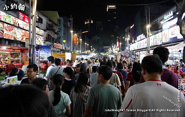 Jalan Alor Night Market Kuala Lumpur