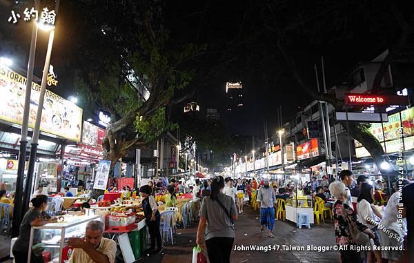 Jalan Alor阿羅夜市美食街