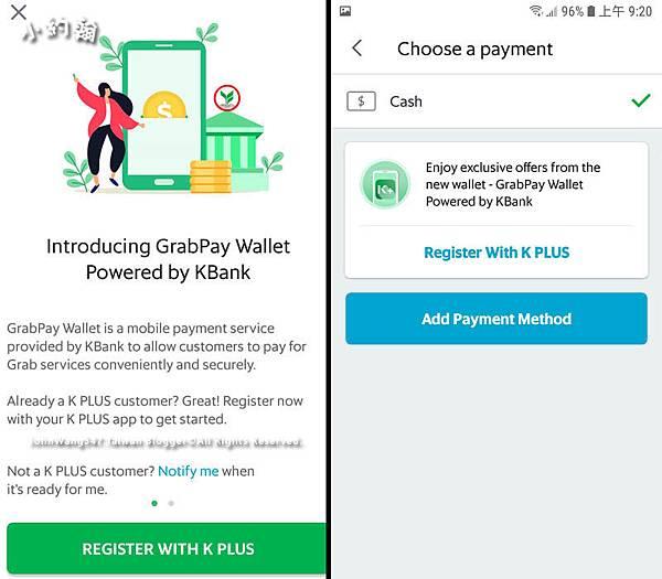 Grabpay Wallet Kbank Thailand