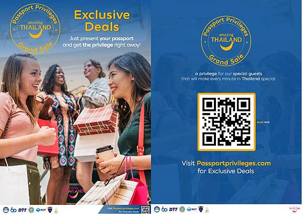 泰國年終大優惠秀護照享特惠