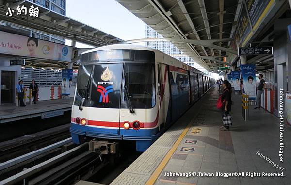 搭BTS捷運玩曼谷