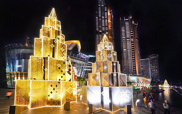 曼谷聖誕廣場ICONSIAM Bnagkok christmas1.jpg