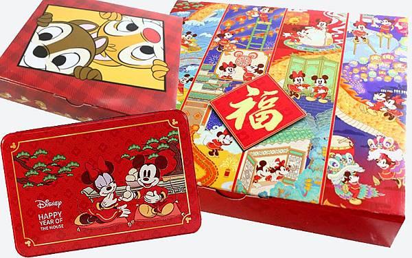 米老鼠 迪士尼 米奇米妮鼠年禮盒