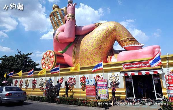 Wat Saman Rattanaram Pink Ganesha.jpg