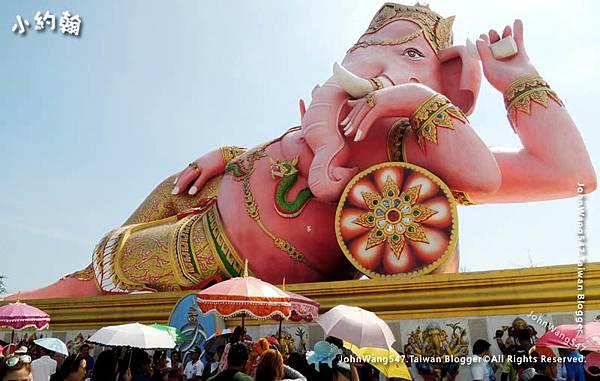 Wat Saman Rattanaram Pink Ganesha4.jpg