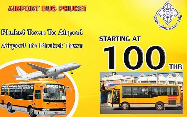 Phuket Airport Bus Orange