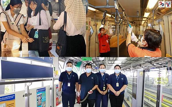 Bangkok BTS Skytrain曼谷捷運消毒工作2.jpg