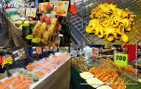 曼谷鐵道夜市Ratchada泰式小吃.jpg