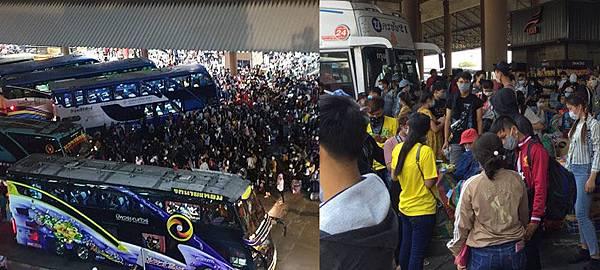 曼谷軟封城長途巴士站擁人潮.jpg