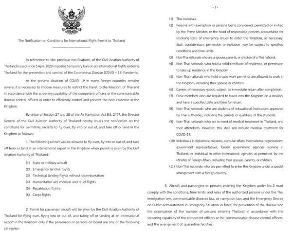 泰國民航局CAAT公告航班6月入境泰國說明.jpg