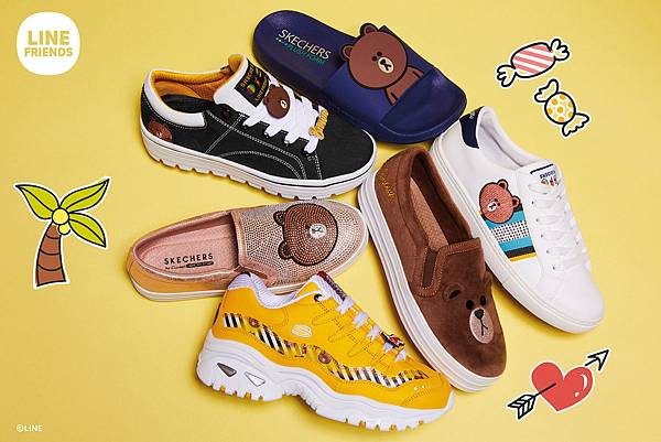 Skechers Shoes LINE FRIENDS熊大.jpg