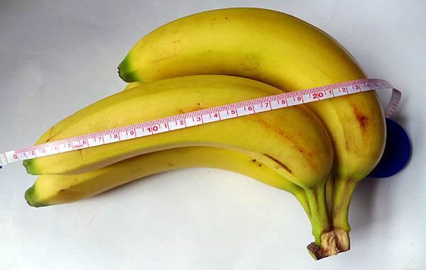 漂亮飽滿超過20公分香蕉.jpg