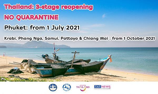 TAT announces a roadmap to reopen Thailand to vaccinated tourists.jpg