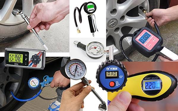 車用輪胎氣壓表 胎壓測量表 胎壓筆.jpg