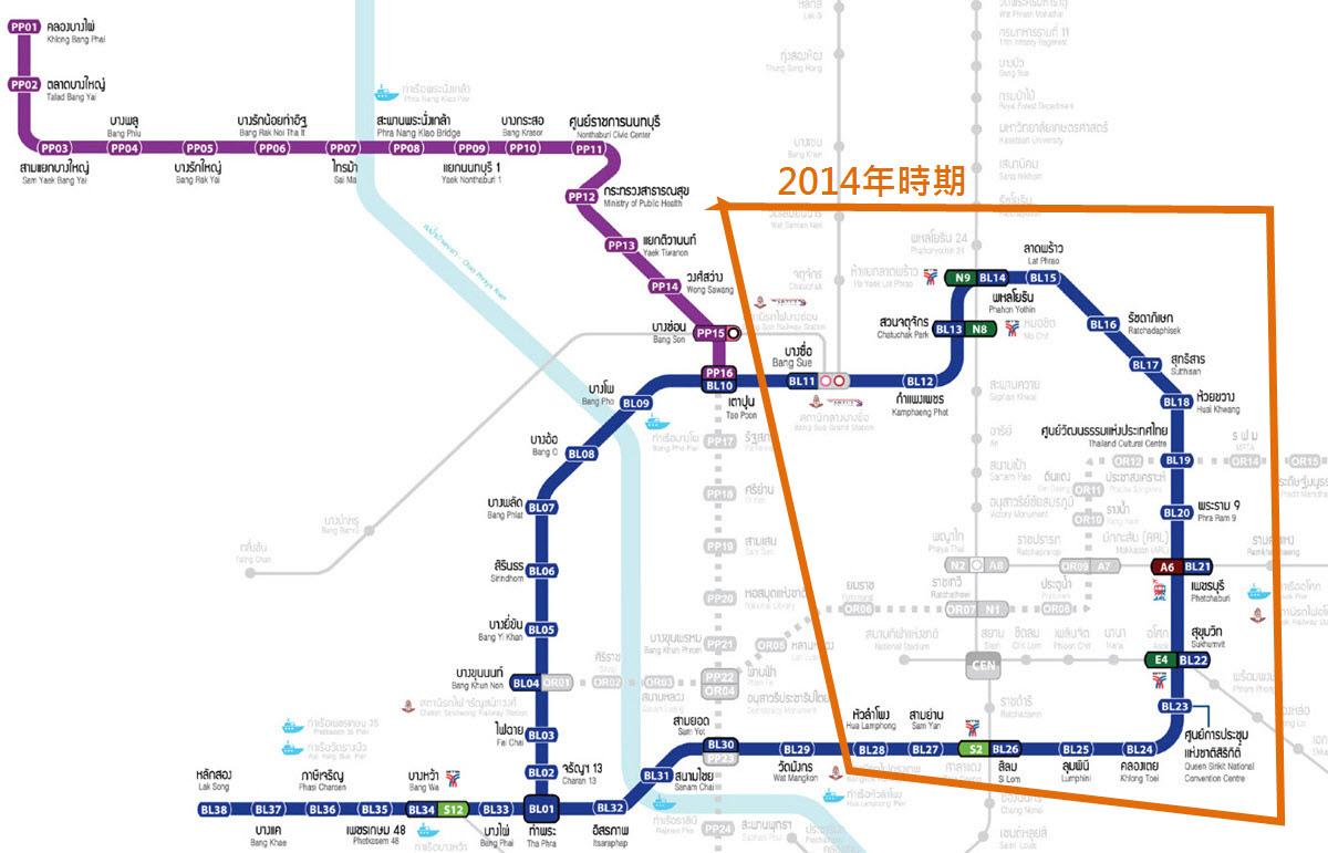 MRT Bangkok Route MAP 2021地鐵.jpg