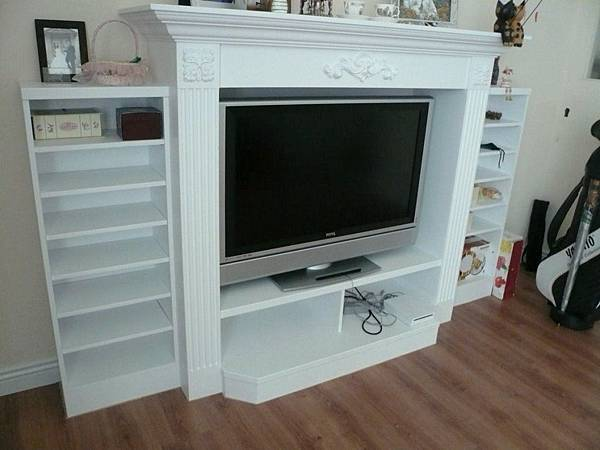 壁爐電視櫃3.JPG