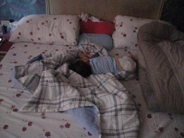 一定要這樣睡嗎?