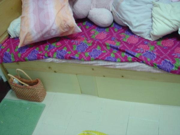 擋床底成功